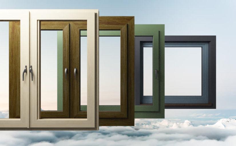 Okna PCV w kolorze antracyt: ponadczasowe piękno.